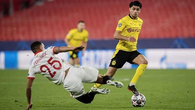 Dortmund sevilla rakakui