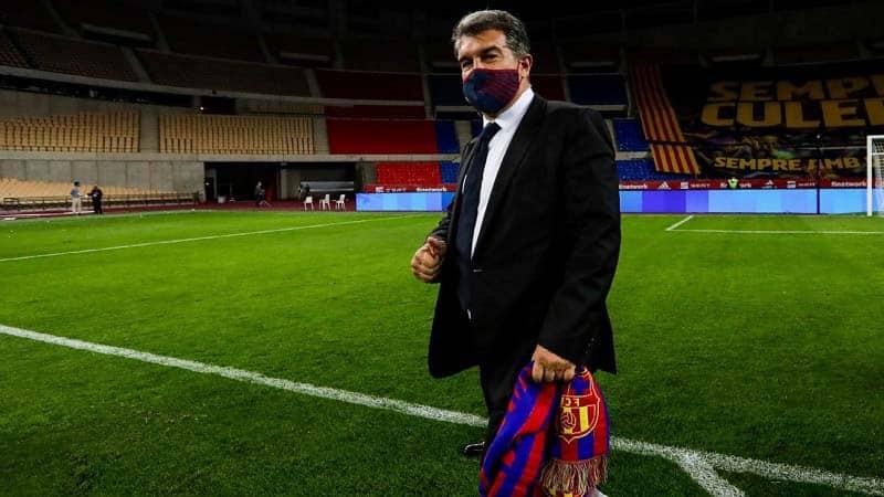 ข่าวบอล ราคาคุย laporta barcelona